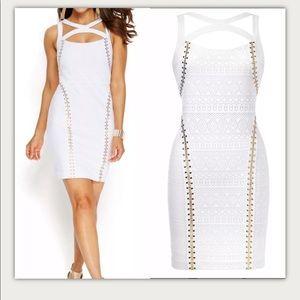 NWT-Thalia Sodi-Acapulco-White BodyCon Dress-Sz M